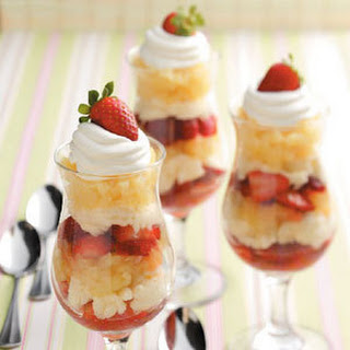 Berry Pineapple Parfaits