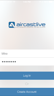 AirCastLive - screenshot