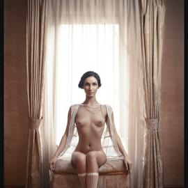 The Boudoir Queens by Kalin Kostov - Nudes & Boudoir Boudoir ( nude, window, woman, boudoir, art, fine art, retro, act, women )