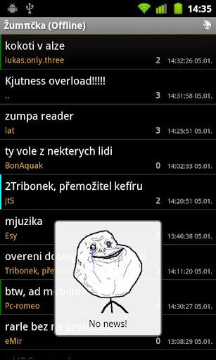 【免費通訊App】Žumpa Reader-APP點子