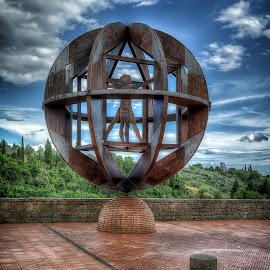 Vinci by Cristian Peša - Buildings & Architecture Statues & Monuments