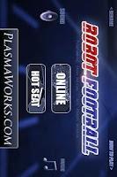 Screenshot of Robot Football Pro