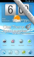 Screenshot of Clear SQ Theme 4 Apex/Nova