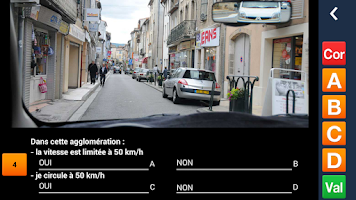Screenshot of PREPACODE - Code de la route