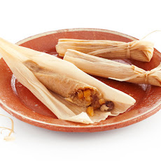 Pineapple, Pecan and Coconut-Rum Tamales