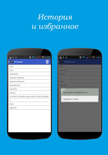 Испанско-русский словарь - screenshot