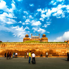 Red Fort, Delhi by Rahul Bakshi - Buildings & Architecture Public & Historical