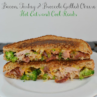 Bacon, Turkey, and Broccoli Grilled Cheese Sandwich