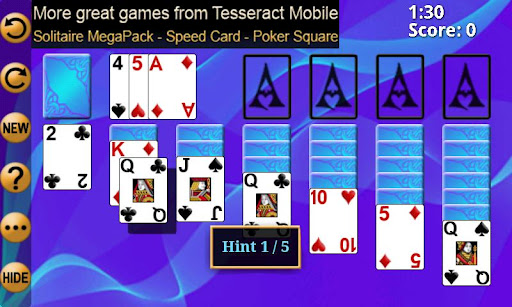 solitaire-free-pack for android screenshot