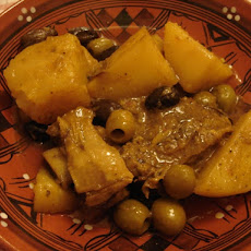 Algerian Beef, Potato & Olive Tagine