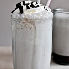 Hot Fudge Bourbon Milkshakes