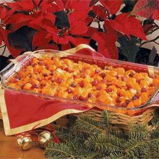 Cranberry Sweet Potato Bake Recipe