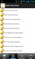 Screenshot of Gold Price Now Free