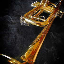 Hot Jazz. by Dave  Horne - Artistic Objects Musical Instruments