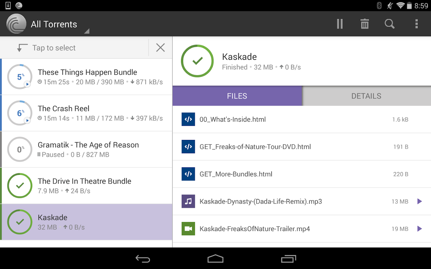 BitTorrent® Pro - Torrent App Screenshot 8