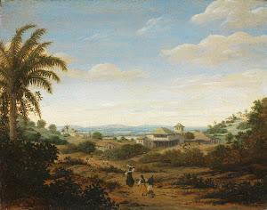 RIJKS: Frans Jansz. Post: Landscape on the Rio Senhor de Engenho, Brazil 1680
