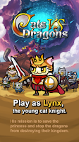 Screenshot of Cats vs Dragons