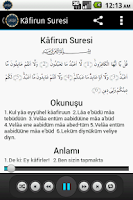 Screenshot of Namaz Sureleri Dinle