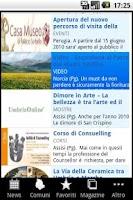 Screenshot of Umbria OnLine
