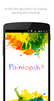 Screenshot of Paintoosh Draw, Paint & Color