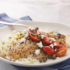Snapper with Warm Italian-Style Salsa