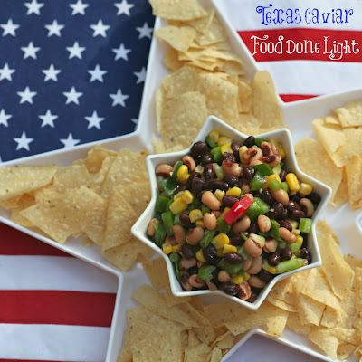 Texas Caviar – Black Bean and Black Eyed Pea Dip
