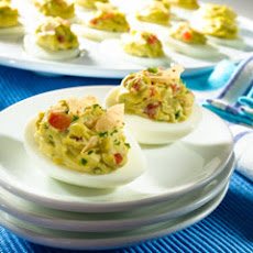 California-style Deviled Eggs