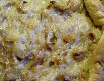 tarte oignons miel