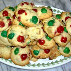Brandied Fruitcake Cookies