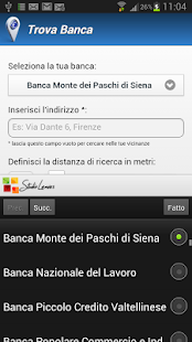 Trova Banca Screenshot