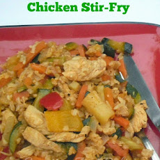 MANGO INFUSED HAWAIIAN CHICKEN STIR-FRY