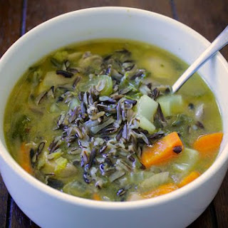 Vegetable & Wild Rice Soup