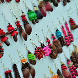 Simple & Attractive by Saikat Kundu - Artistic Objects Jewelry ( ear, color, colorful, jewelry, close up, junk,  )