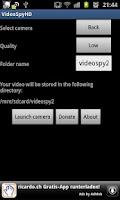 Screenshot of VideoSpyHD for gs2 BETA
