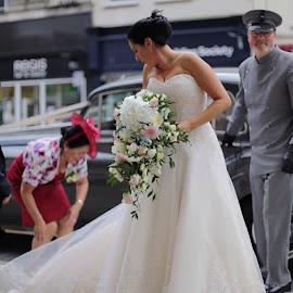Today's wedding by Edward Heathcote - Wedding Bride ( wedding, bride, weddingphotographer, photographer, specialday, stunningbride )