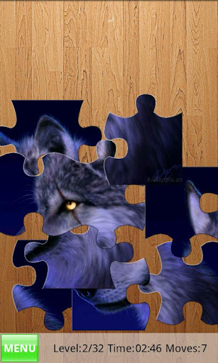 yo-jigsaw-puzzle-wolves for android screenshot