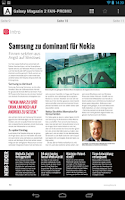 Screenshot of Android Magazin