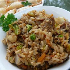 Pork Fried Rice for Two