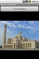 Screenshot of Islamic Wallpaper Free