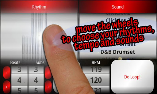 Acoustic Drum Machine - screenshot