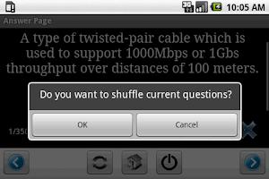 Screenshot of CISSP Security Flashcards