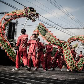 Dragon show by Krisdian Isnu Wardana - News & Events Entertainment