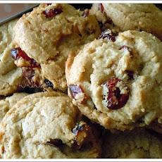 White Chocolate Blackberry Cookies