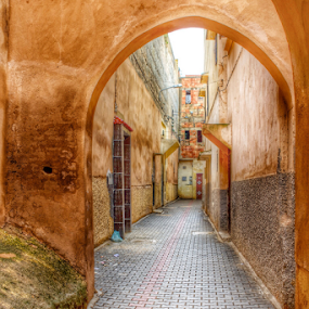 The streets of Fez  by Ali Brown - City,  Street & Park  Neighborhoods ( fez, morocco )