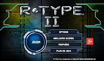 Screenshot of R-TYPE II