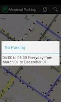 Screenshot of Montreal Parking