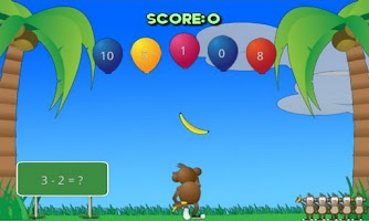 Screenshot of Math Monkey