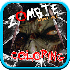 Coloring Zombie World War HD