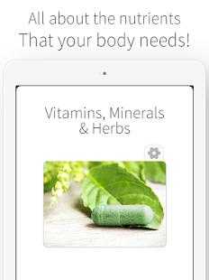 Vitamins, Minerals and Herbs- screenshot thumbnail