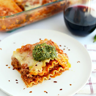 Easy Meat Lasagna